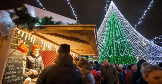 Рождество в Вильнюсе 2016