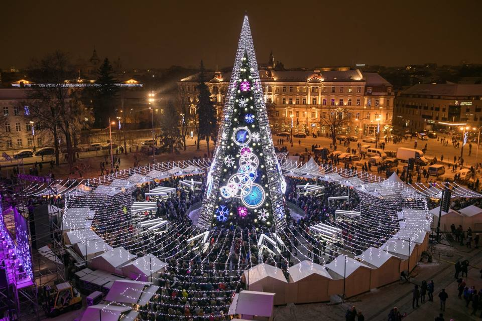 Magic Christmas.Magic Christmas Attracted More Than 500 Thousand Guests To Vilnius