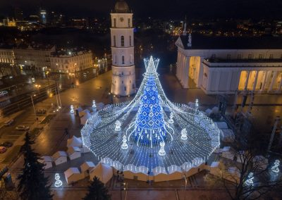 Kalėdos sostinėje 2019