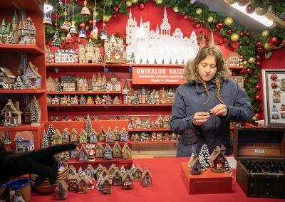 Рождество в Вильнюсе 2019